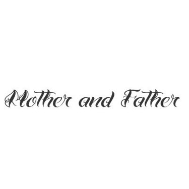 Honor Thy Mother and Father Tattoo