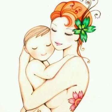 Beautiful Sketch for Mother Tattoo