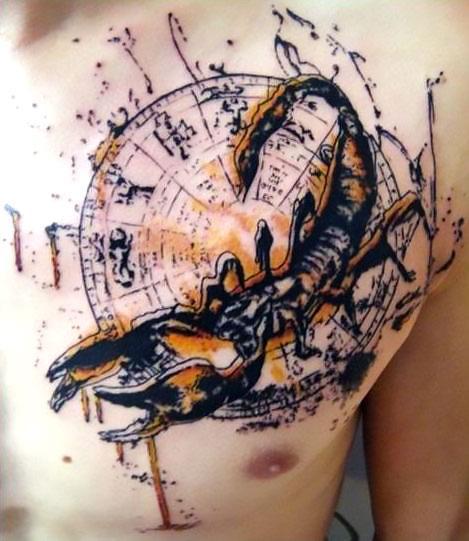 Awesome Scorpion Tattoo Idea