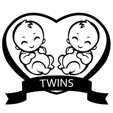 Twin Children  Tattoo