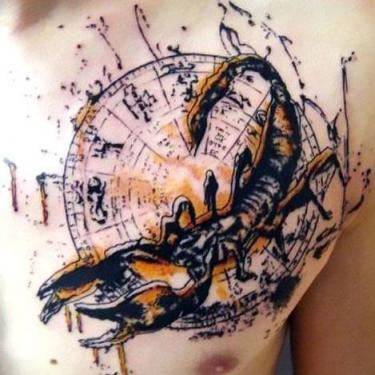 Awesome Scorpion Tattoo