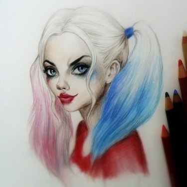 Awesome Harley Quinn  Tattoo