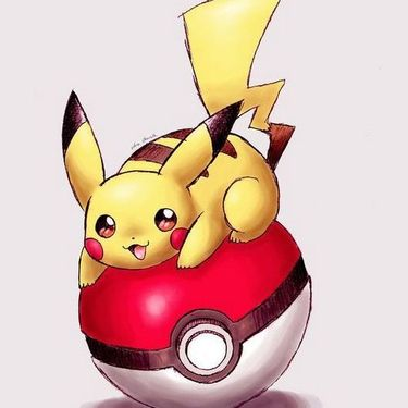 Pikachu on The Poke Ball Tattoo