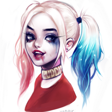 Beautiful Harley Quinn Tattoo