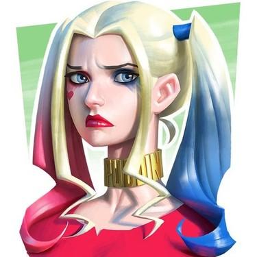 Sad Harley Quinn Tattoo