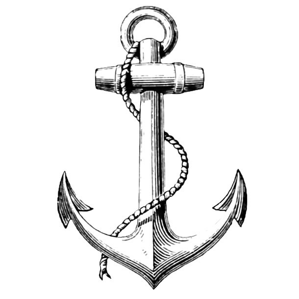 Anchor Hope Tattoo Design