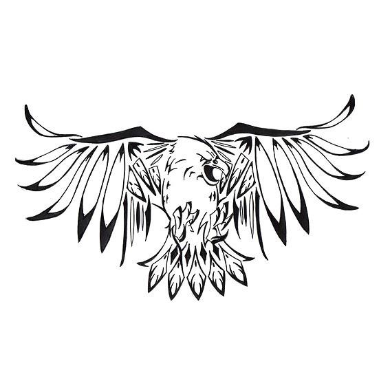 Bird Representing Struggle Tattoo Design