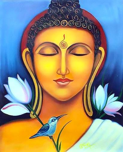 Buddha In Meditation Tattoo Design