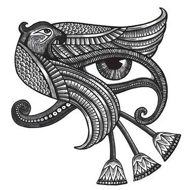 Egyptian Protection Symbol Tattoo