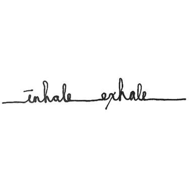 Inhale Exhale Tattoo