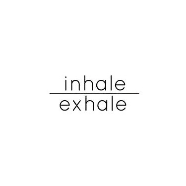 Inhale Exhale With Line Tattoo