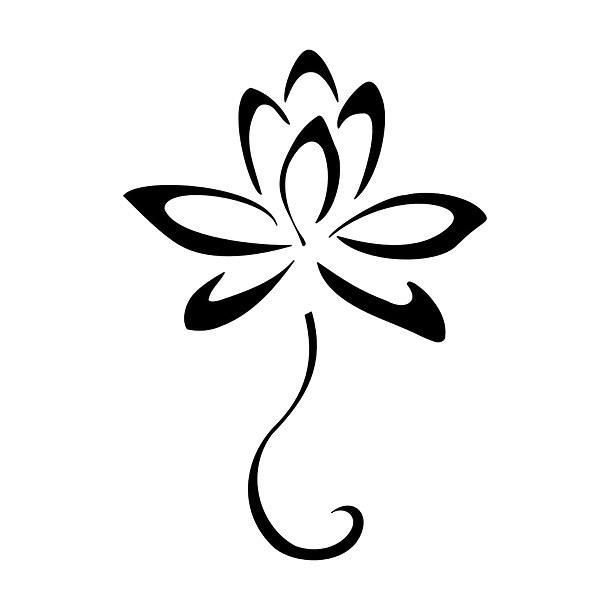 New Beginning Flower Tattoo Design