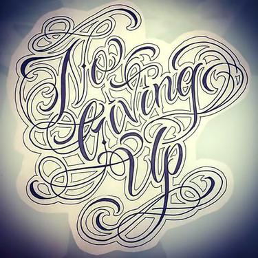 No Living Up Tattoo