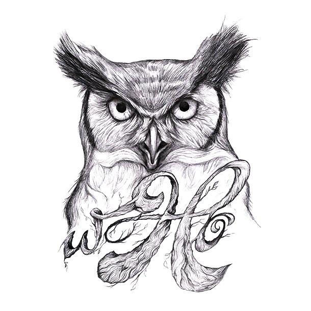 Owl Inpiration Tattoo Design