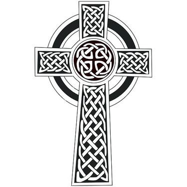 Simple Celtic Cross Tattoo