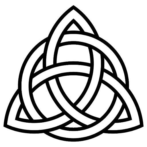 Simple Celtic Knot Tattoo Design