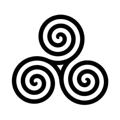 Spiral Tattoo Design