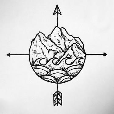 Travelling Symbol Tattoo