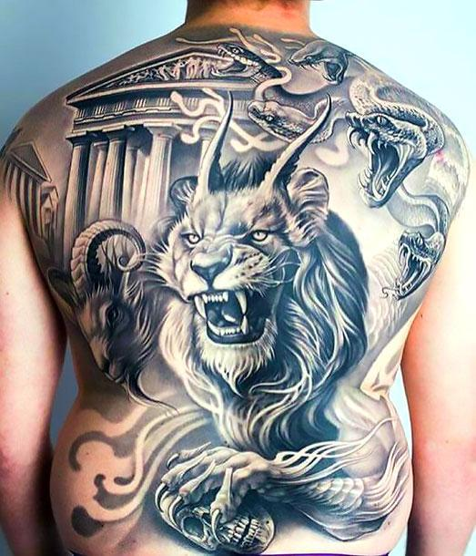 Bad Lion Tattoo Idea