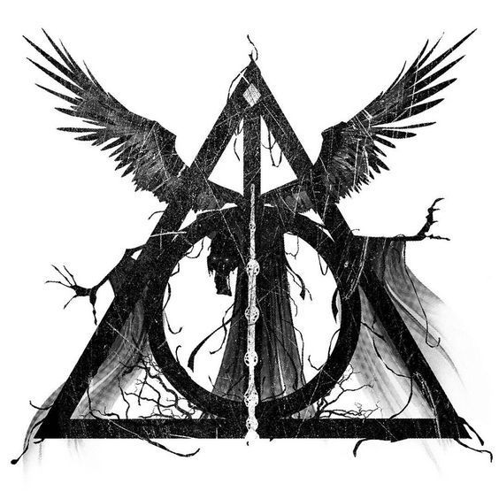 Best Deathly Hallows Tattoo Design