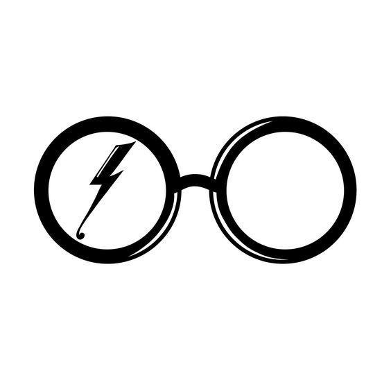 Harry Potter Glasses Tattoo Design