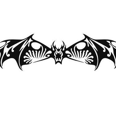 Badass Bat Tattoo