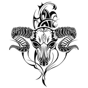 Badass Goat Tattoo