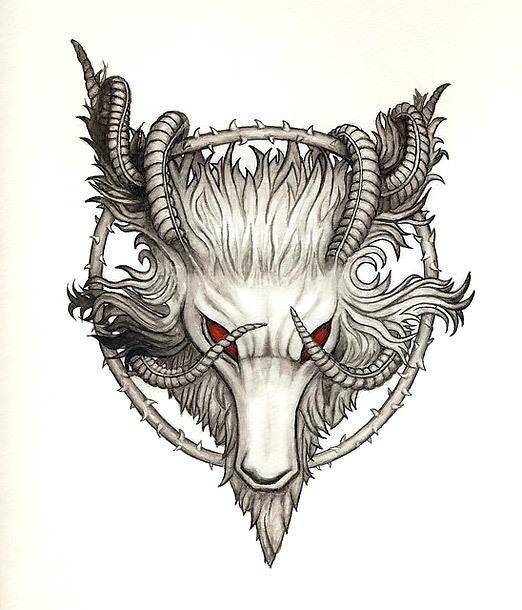 Best Goat Tattoo Design