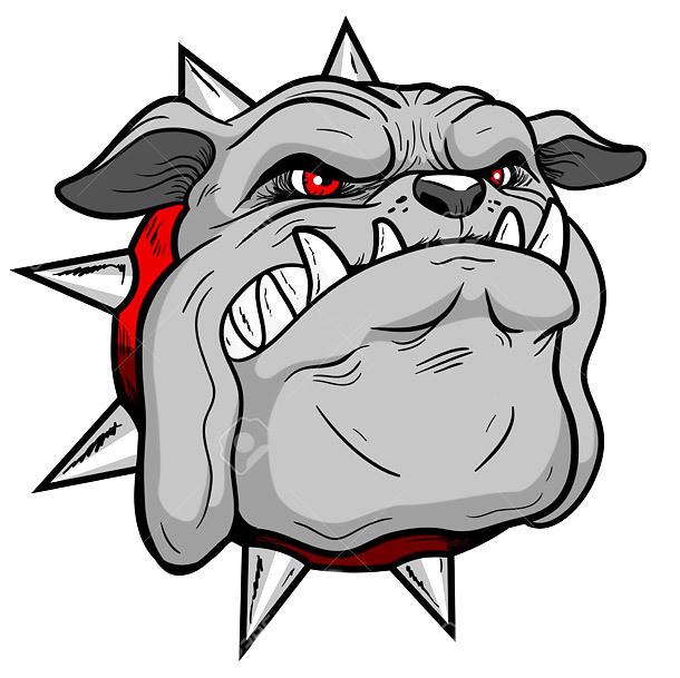 Best New School Bulldog Tattoo Design