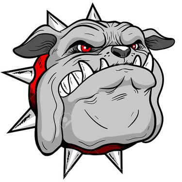 Best New School Bulldog Tattoo