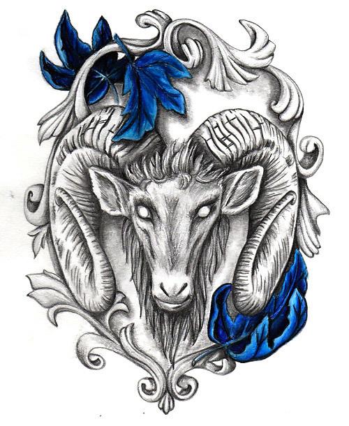 Best Ram Tattoo Design