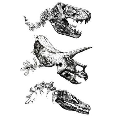Dinosaur Skulls Tattoo