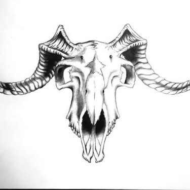 Goat Skull Tattoo