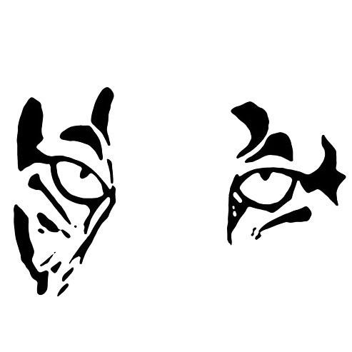 Jaguar Eyes Tattoo Design