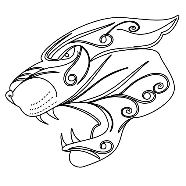 Jaguar Head Tattoo Design