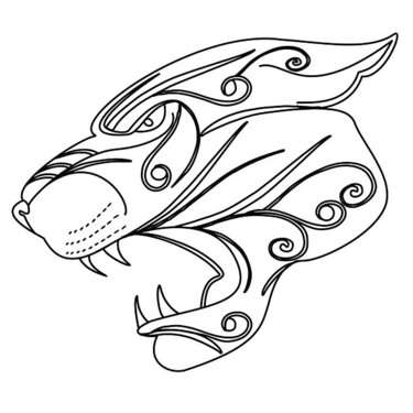 Jaguar Head Tattoo