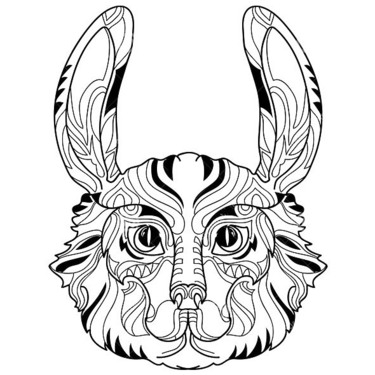 Rabbit Head Tattoo