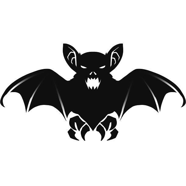 Simple Bat Tattoo Design