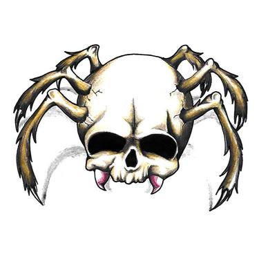 Tarantula Skull Tattoo