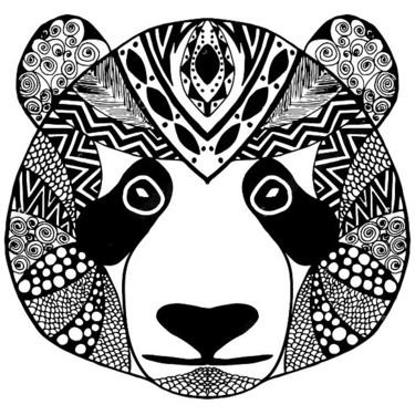 Tribal Panda Tattoo