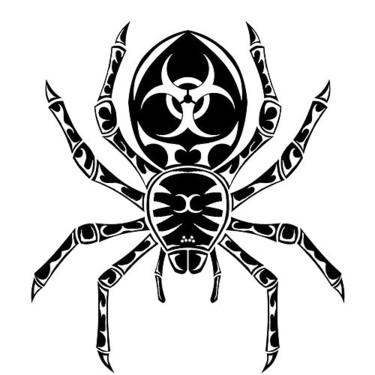 Tribal Tarantula Tattoo