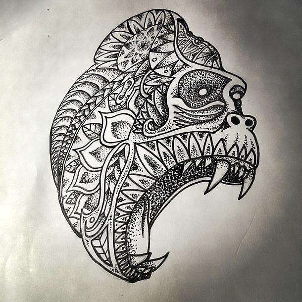 Gorilla Tattoo Art Tattoo Design