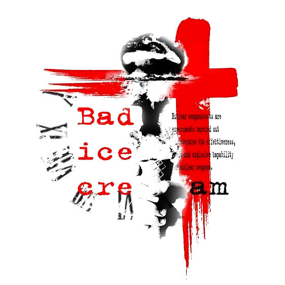 Bad Ice Cream Tattoo Design