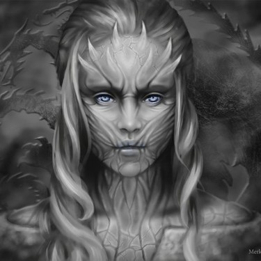 Daenerys Targaryen The Queen of Whitewalkers Tattoo