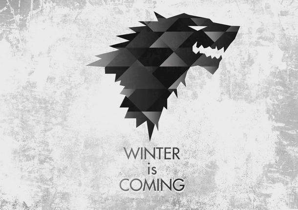 House Stark Wolf Tattoo Design