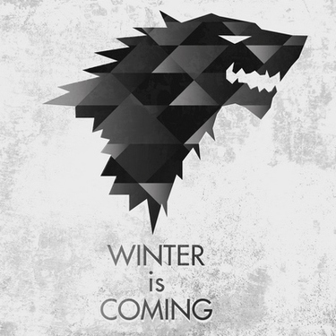 House Stark Wolf Tattoo