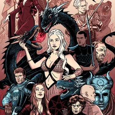 Game of Thrones Characters Tattoo