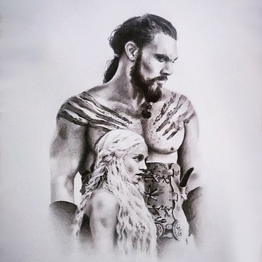 Daenerys and Khal Drogo Tattoo