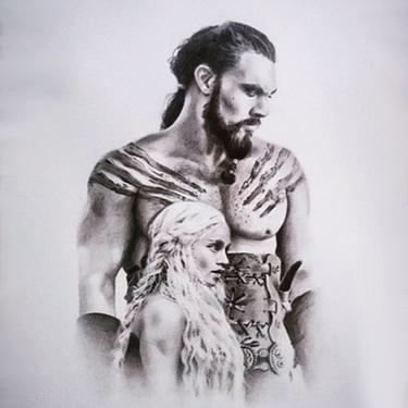 Daenerys and Khal Drogo Tattoo