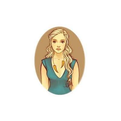 Daenerys Sweet Portrait  Tattoo Design